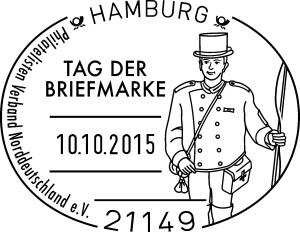 Sonderstempel zum Tag der Briefmarke 2015