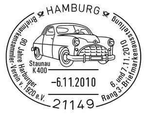 90 Jahre Harburger Briefmarkensammler-Verein
