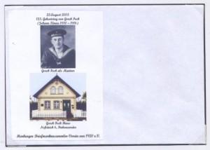 Sonderumschlag Gorch Fock Nr. 1