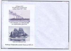 Sonderumschlag Gorch Fock Nr. 2