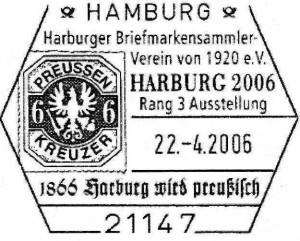 1866 Harburg wird preußisch.