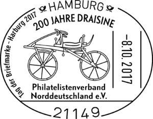 Sonderstempel 200 Jahre Draisine