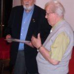 Verleihung goldene Verdienstnadel an Otto Wickbold