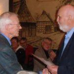 Verleihung goldene Verdienstnadel an Martin Doose
