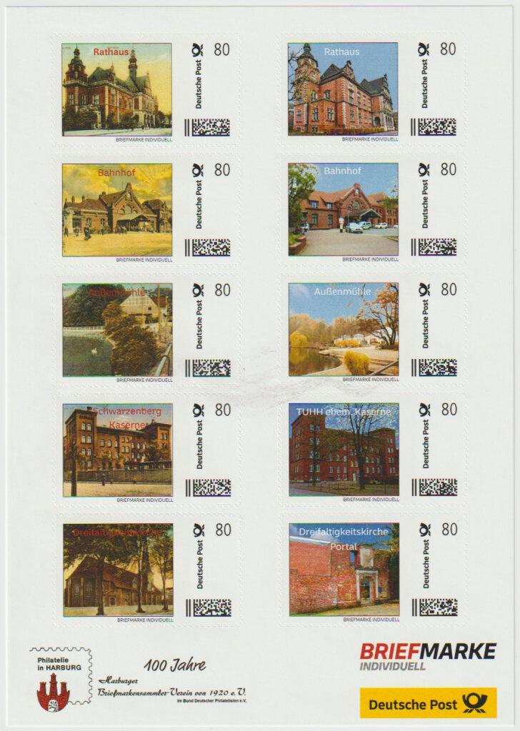 Briefmarken Individuell Harburg