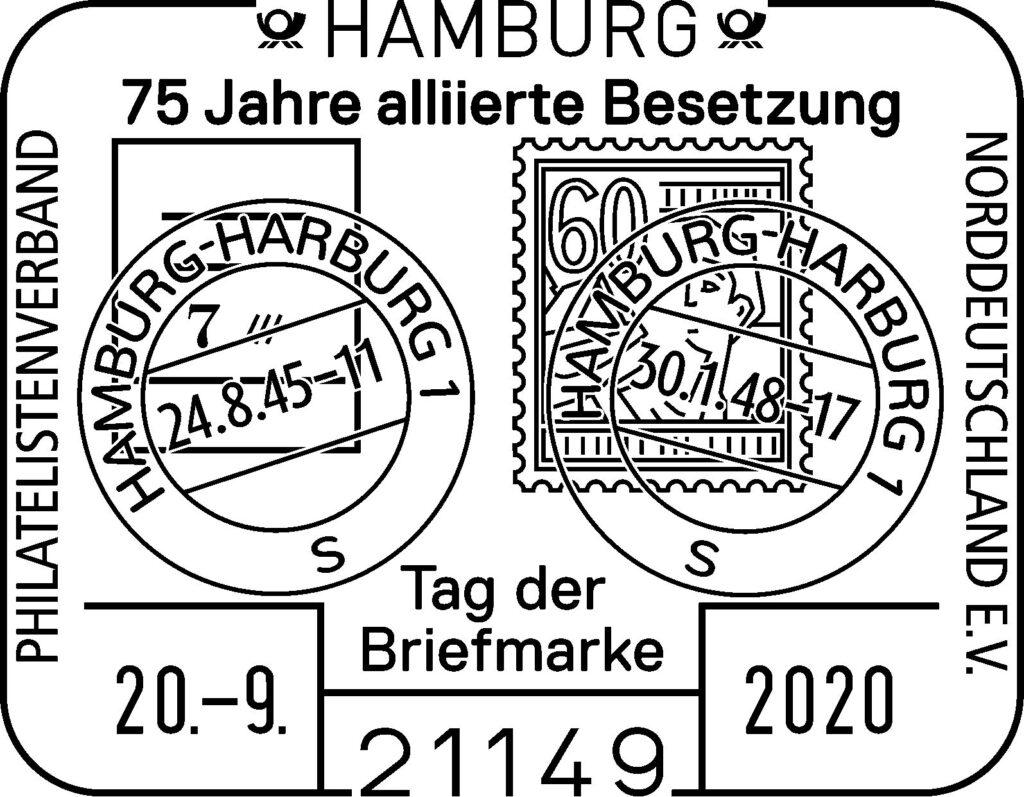 Sonderstempel am 20.9.20 zum Tag der Briefmarke